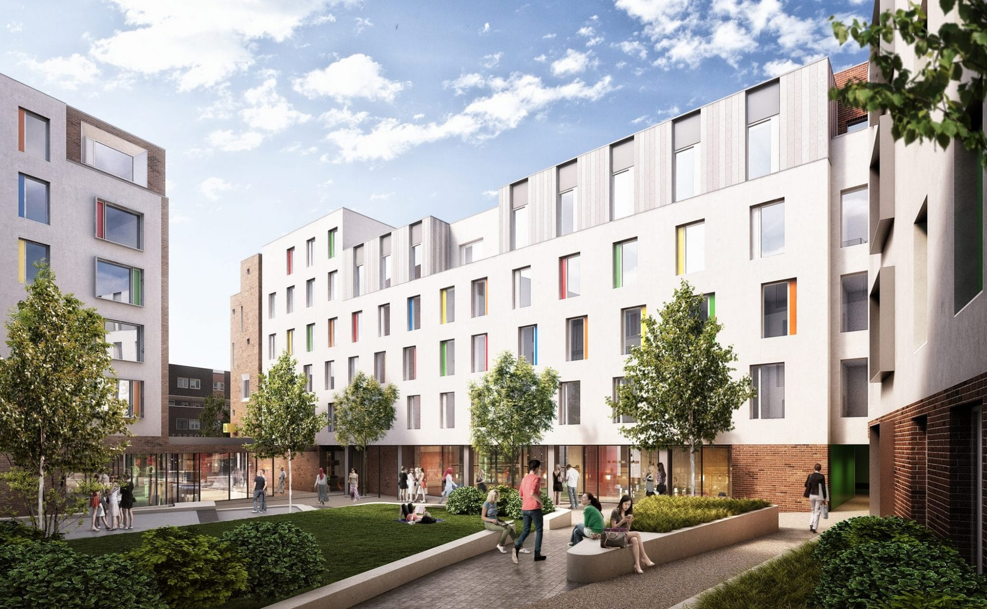 'Dorset Point' Purpose Built Student Accommodation (PBSA) in Dublin 1